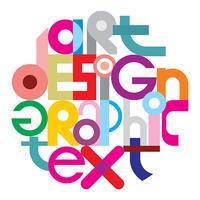 Text grafisk design