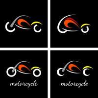 Logo de moto vector