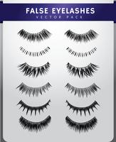 False Eyelashes Pack