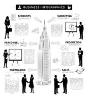 Business people infographics