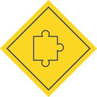 Puzzleteil-Icon-Design