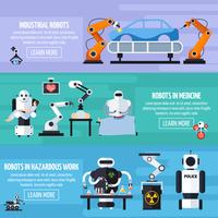 Conjunto de Banners Robots