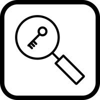 Keyword Search Icon Design
