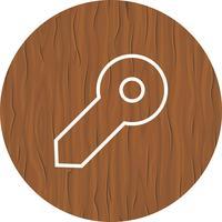 Design de ícone de chave