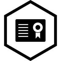 Certificate Icon Design