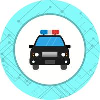 Police Icon Car Design