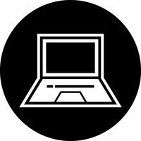 Laptop Icon Design