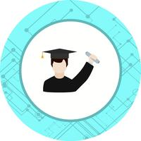 Getting Degree Icon Design