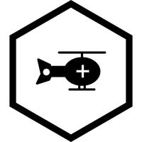 Helicóptero Icon Design
