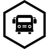 School bus Icon Design