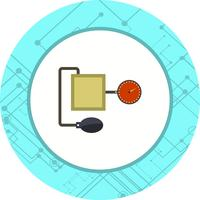 Projeto do ícone do aparato de BP