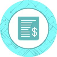 Receipt Icon Design