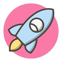 Rocket Icon Design