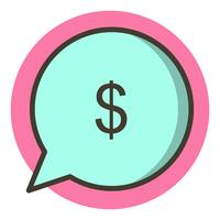 Send Money Icon Design
