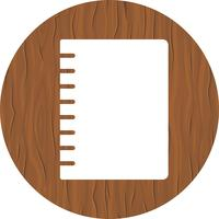 Spiral Notebook Icon Design