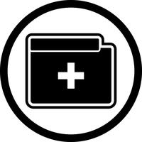Medical Folder Icon Design