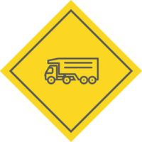 Tipper Truck Icon Design