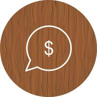 Geld-Icon-Design senden