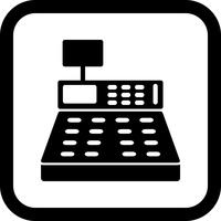 Cash Counter Icon Design