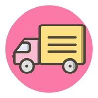 Truck pictogram ontwerp