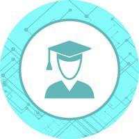 Male Student Icon Design