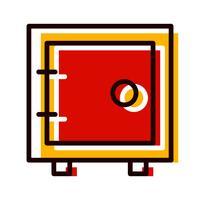kluis pictogram ontwerp