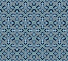 Seamless flower pattern Ornamento floral abstrato