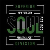 New York city sport typography graphic art