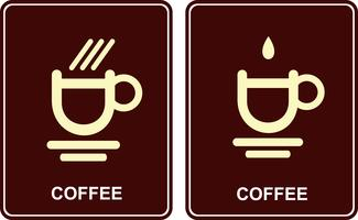 Coffee cup - vector icon