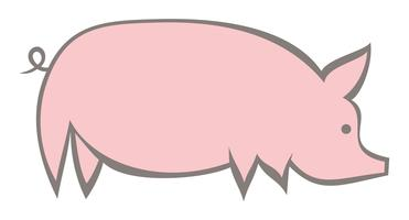 Icône de porc