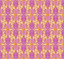 Abstract naadloos patroon. Retro swirl lijn ornament.