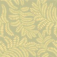 Nahtlose Blümchenmuster Blatthintergrund Flourish Ornament mit Blättern