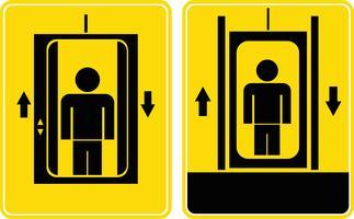 Ascenseur - icône de vecteur