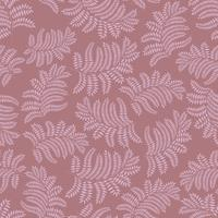 Floral seamless pattern. Leaf retro backdrop