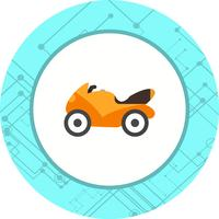 Heavy Bike Icon Design