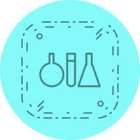 Test Tubes Icon Design