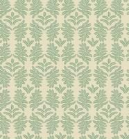 Floral tile pattern. Brocade retro ornament. Flourish leaves backdrop