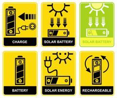 Solar battery, charge, recharge