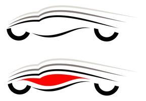 Modern car icon