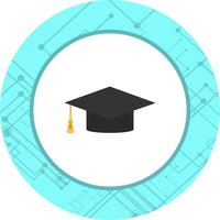 Graduation Cap Icon Design