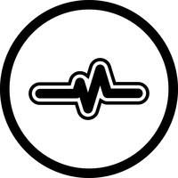 Pulsfrequenz-Icon-Design