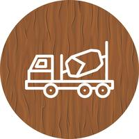 Betongblandare Icon Design