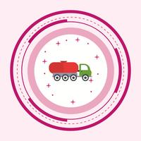 Tankwagen-Icon-Design