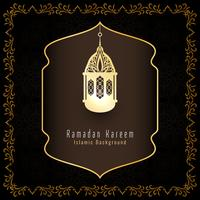 Abstract Ramadan Kareem islamic greeting background