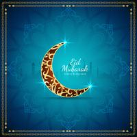 Fondo abstracto del festival islámico Eid Mubarak