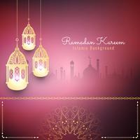 Fondo islamico alla moda astratto di Ramadan Kareem
