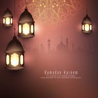 Priorità bassa islamica astratta di Ramadan Kareem