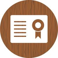 Certificato Icon Design