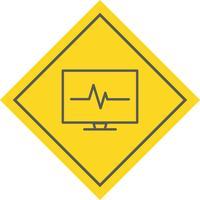 Design de ícone de ECG