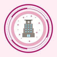 Conception d'icônes d'hôpital